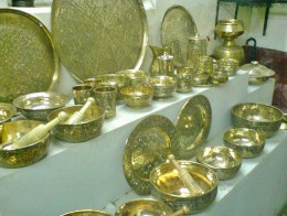 Display at Dhamrai Metal Craft Workshop {RD}